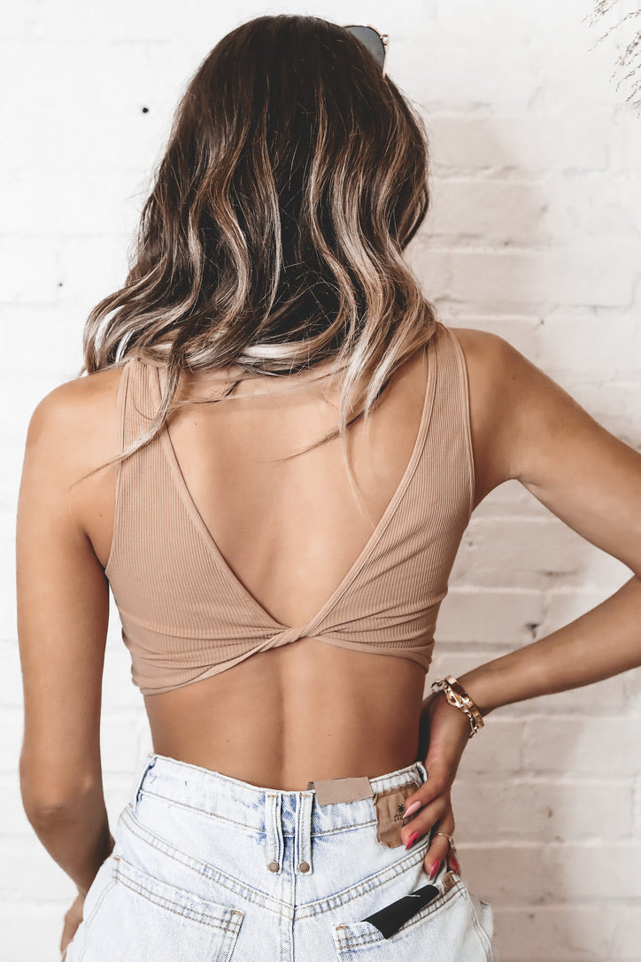 Dance For Me Front Twist Top