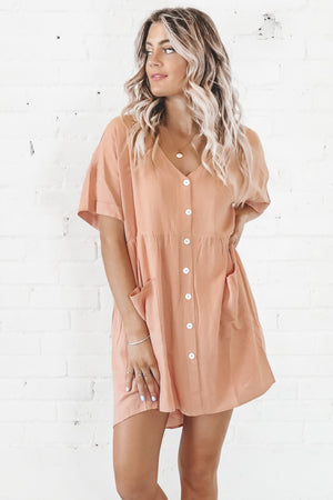 He's A Babe Babydoll Dress