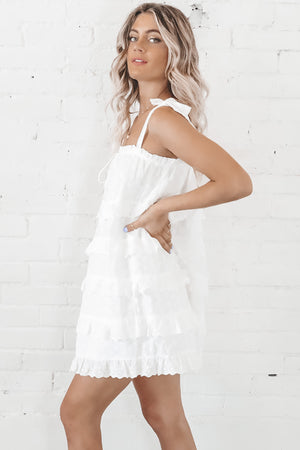 Eyes Wide Open White Dress