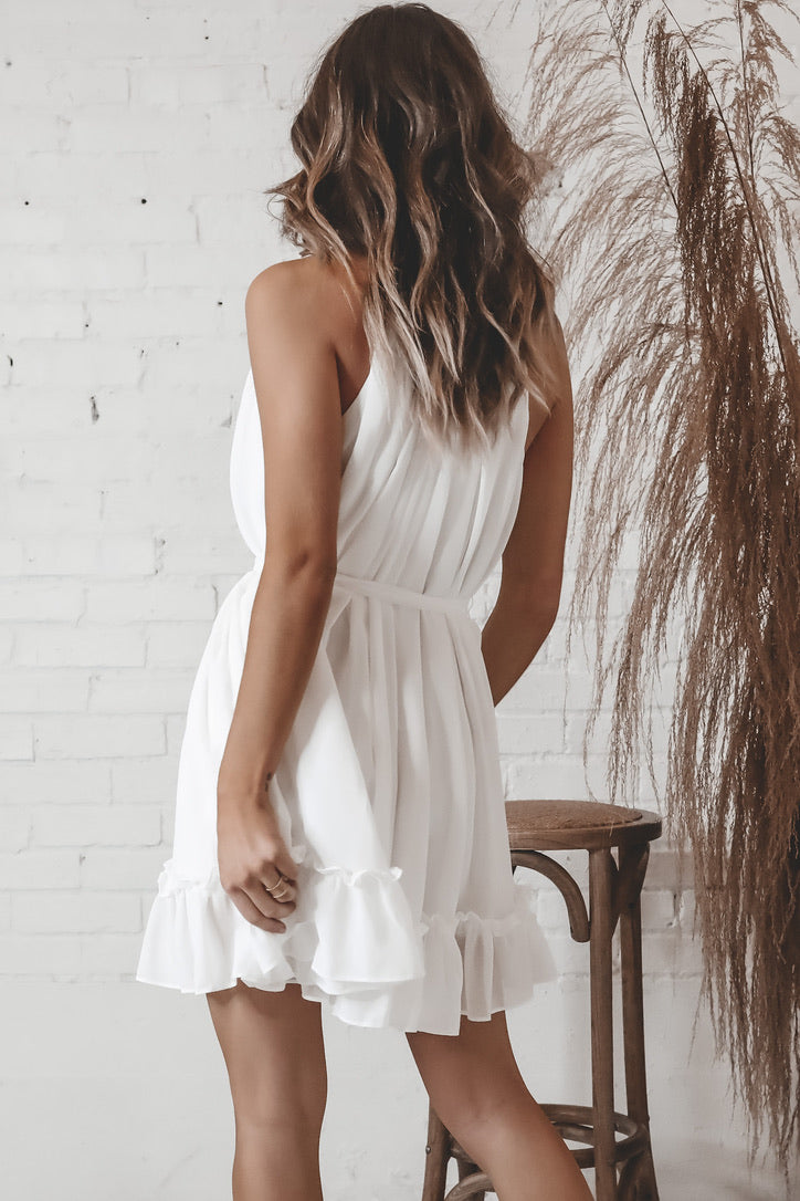 High Standards White Dress