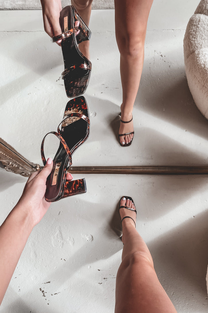 BILLINI Banskia Tortoise Shell Sandals