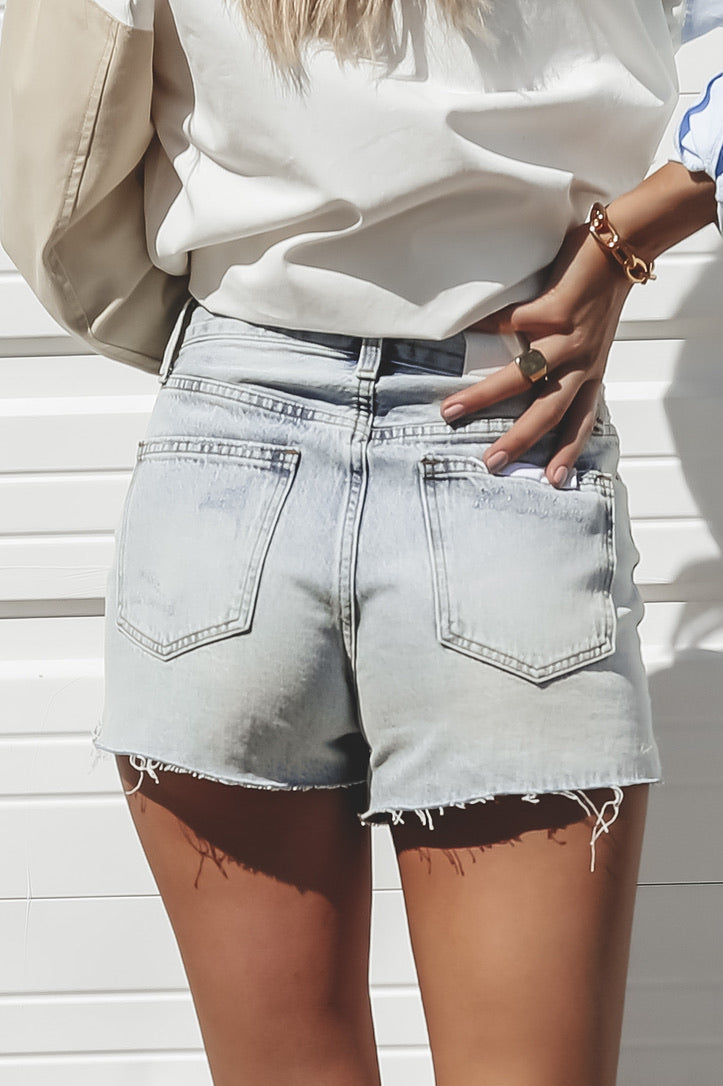 PISTOLA Kylee Relax High Cuffed Shorts