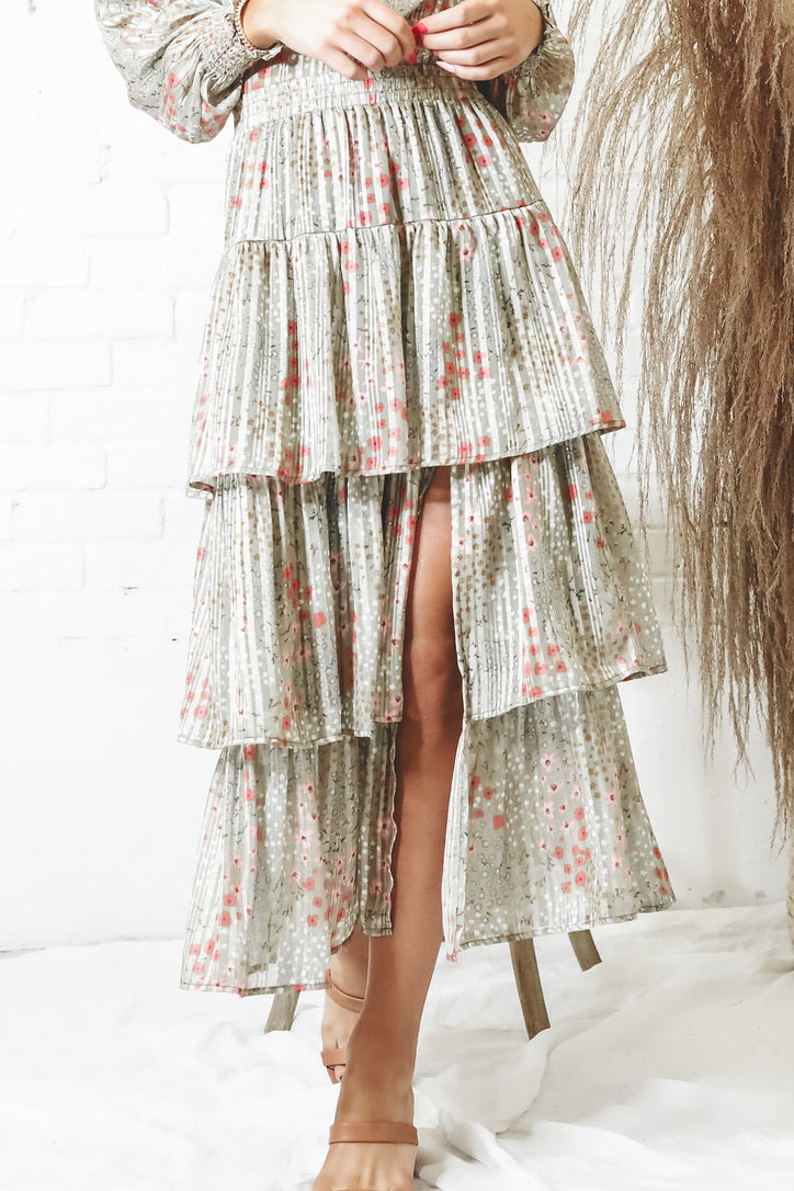 MINKPINK Monet Midi Skirt