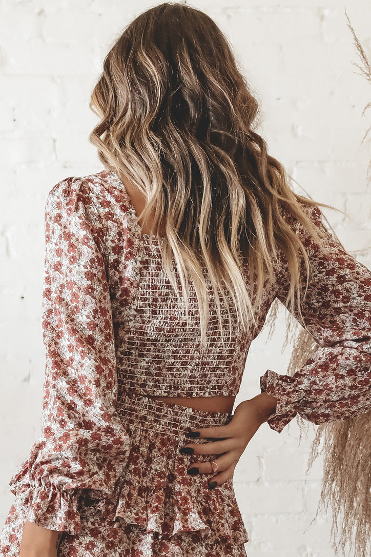 Girl Please Floral Blouse