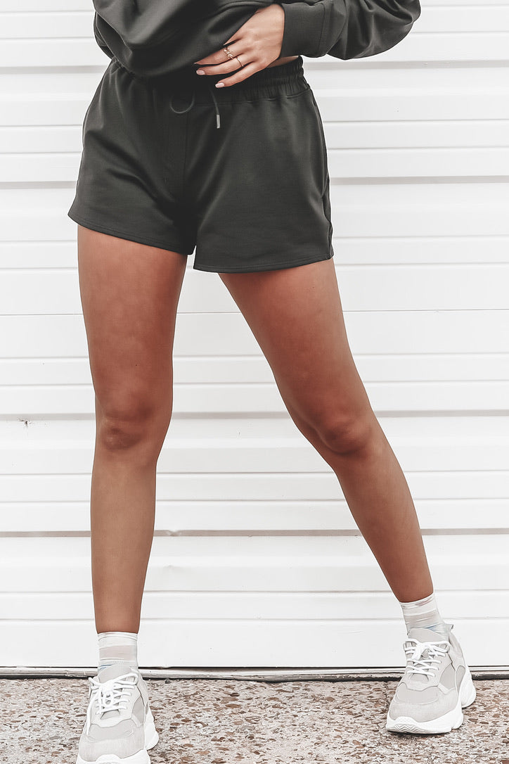RICHER POORER Terry Stretch Limo Sweatshort