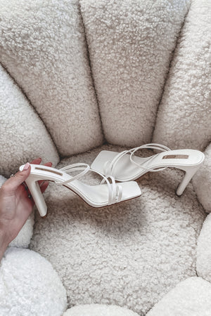 BILLINI Cascade White Scale Sandals