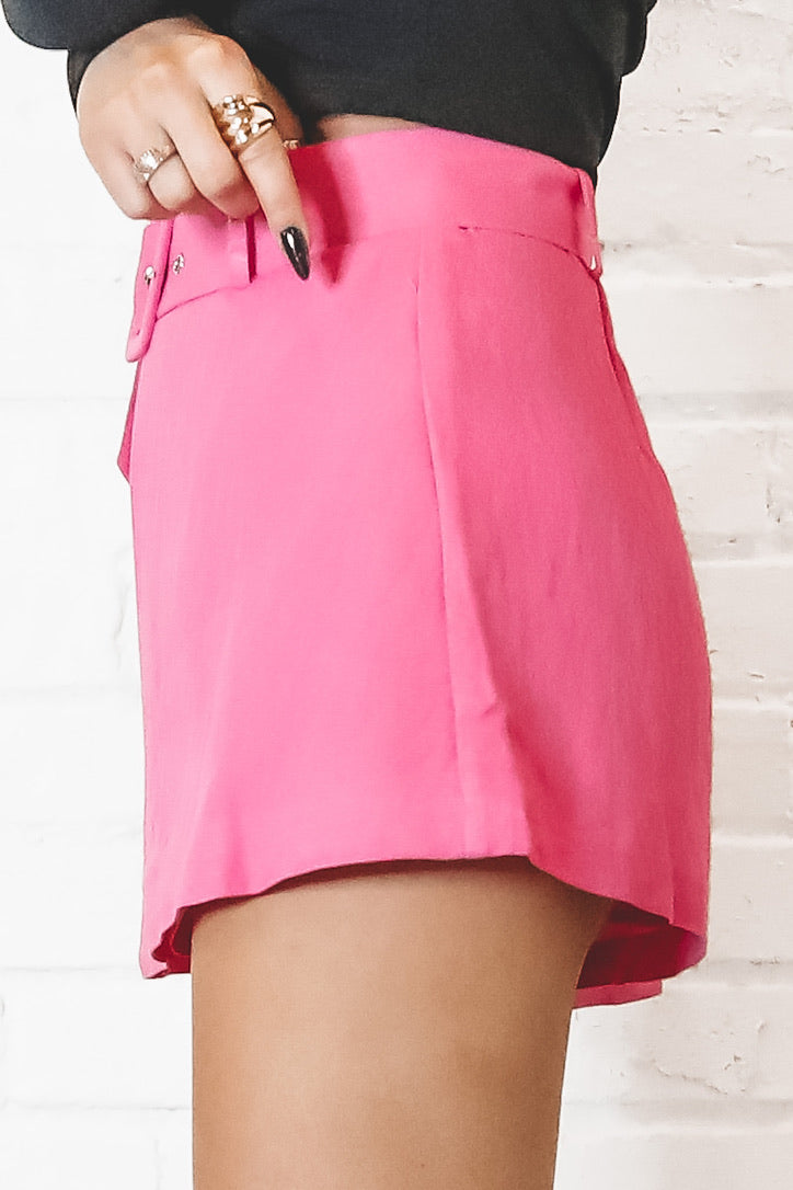 Pink Is My Favorite Mini Skort