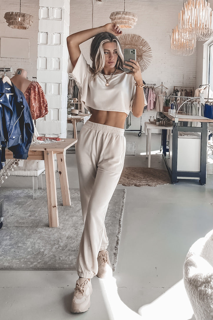 Over And Over Again Oversized Joggers