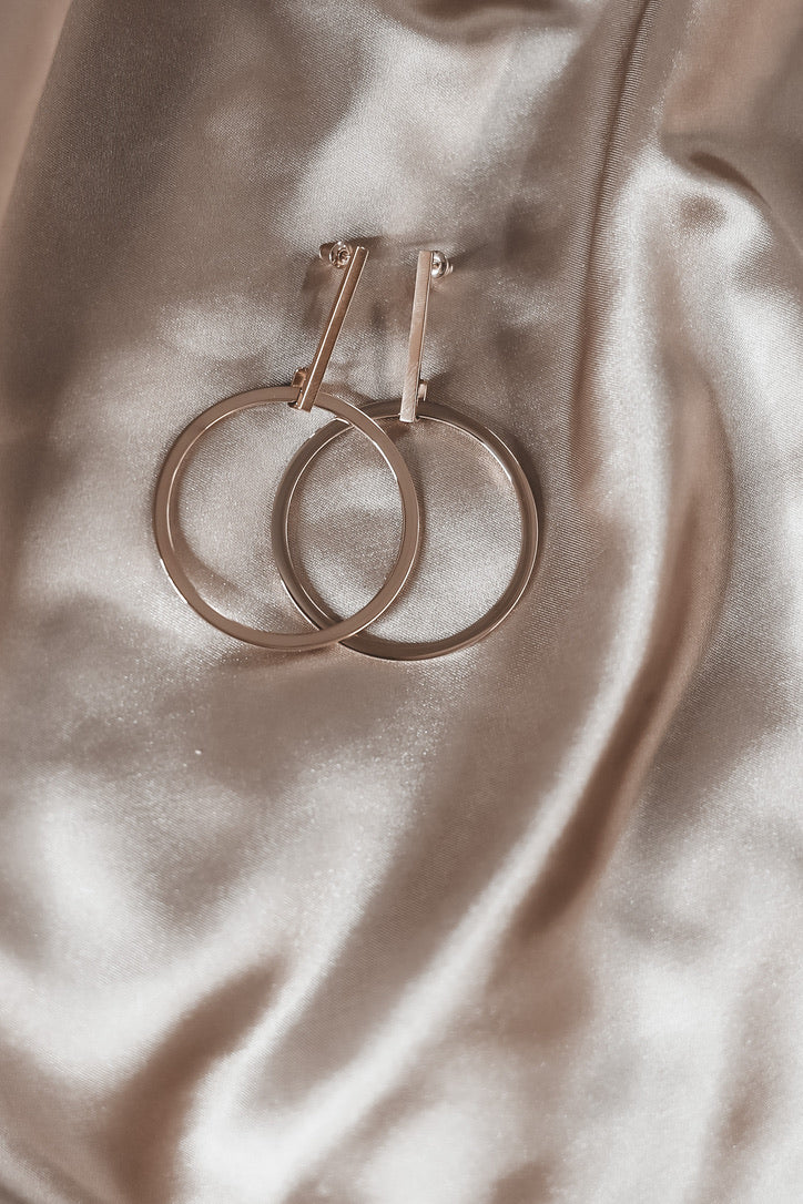 SAHIRA 18k Kimi Drop Earrings