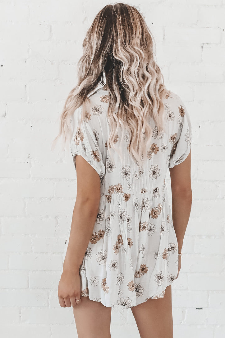 Play It Cool Floral Romper