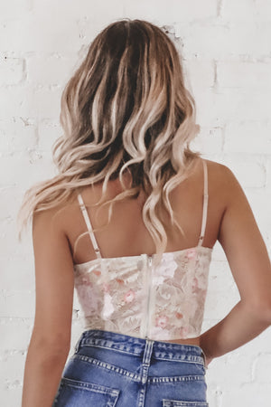 Back To My Old Ways Blush Bralette Top