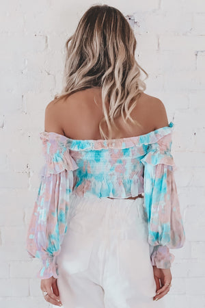 Back To The Ocean Tie Dye Top