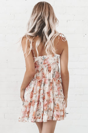 Feelin' The Love Floral Mini Dress