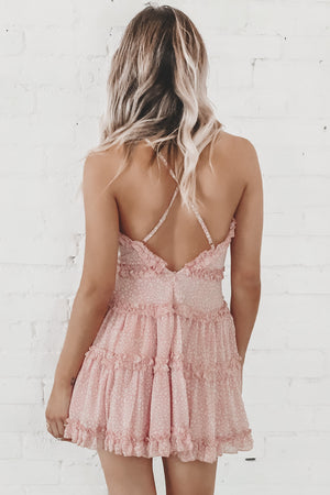 Back To You Pink Mini Dress