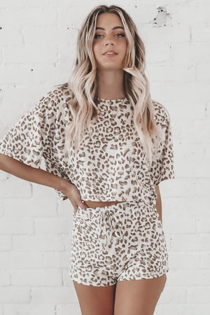 Can't Be Tamed Leopard Two Piece Set