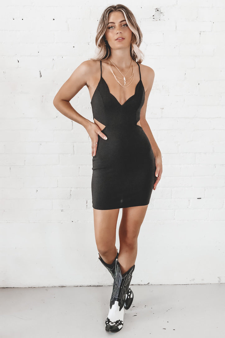 Head Turner Little Black Dress