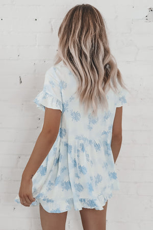 It's A Boy Blue Babydoll Dress