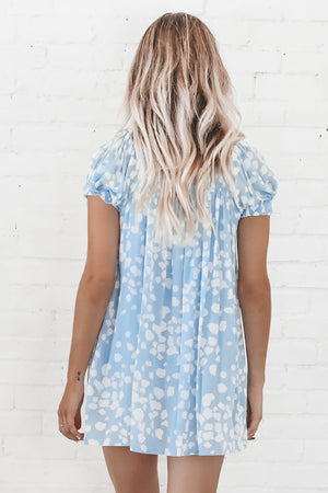 I'm Dressing Up Mini Blue Romper