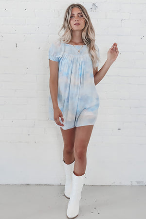 Blueberry Bubblegum Babydoll Dress