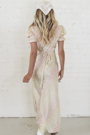 Free Spirit Satin Maxi Dress