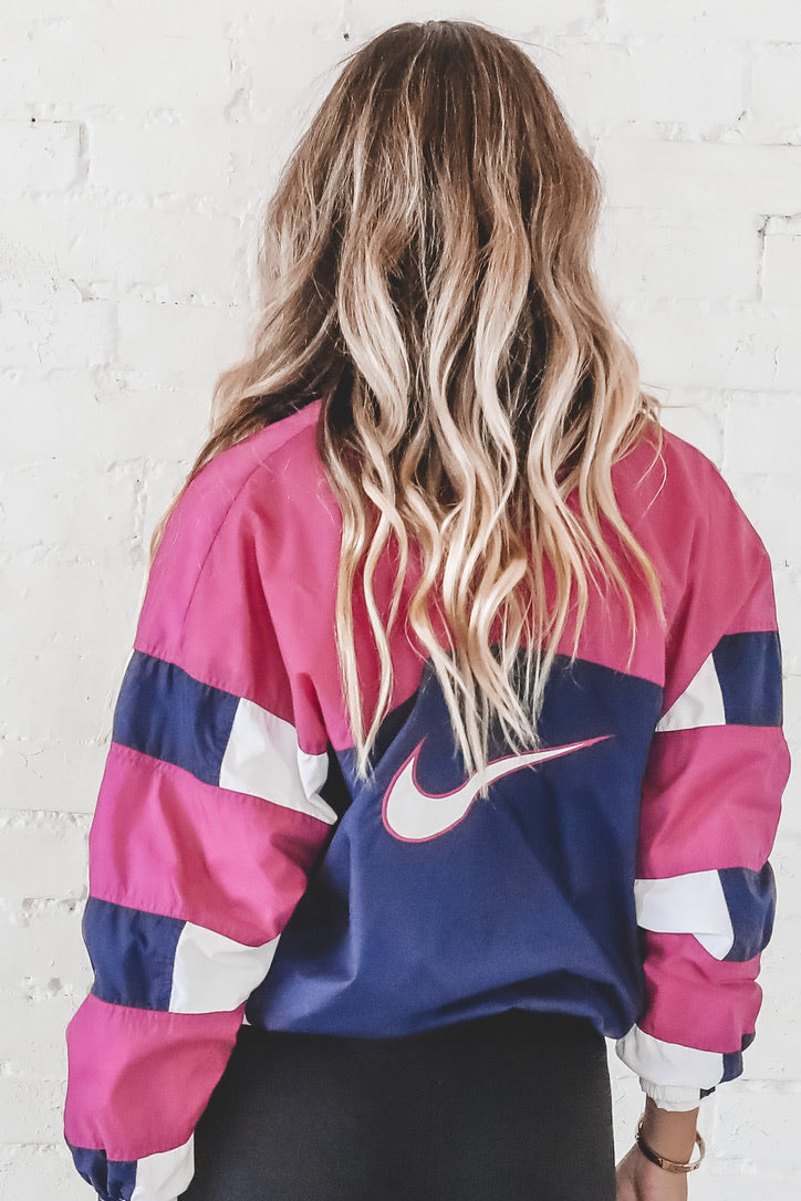VINTAGE NIKE Colorblock Windbreaker 130