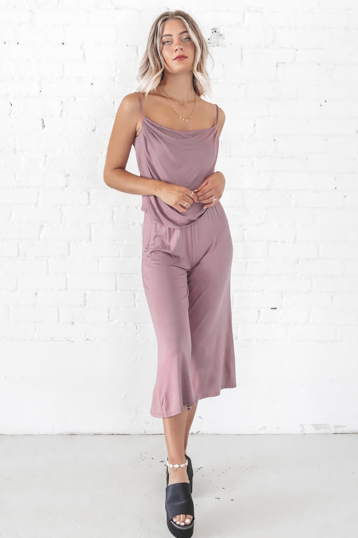 Call Before Bed Lavender Two Piece Set
