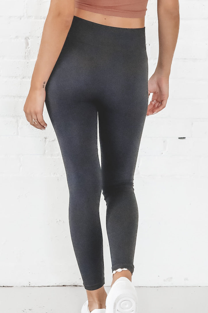 Chill Out Black Leggings