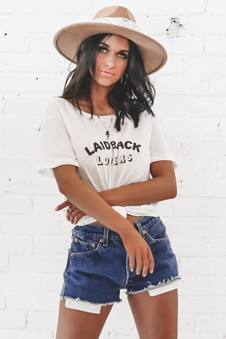 Laid Back Lovers Graphic Tee