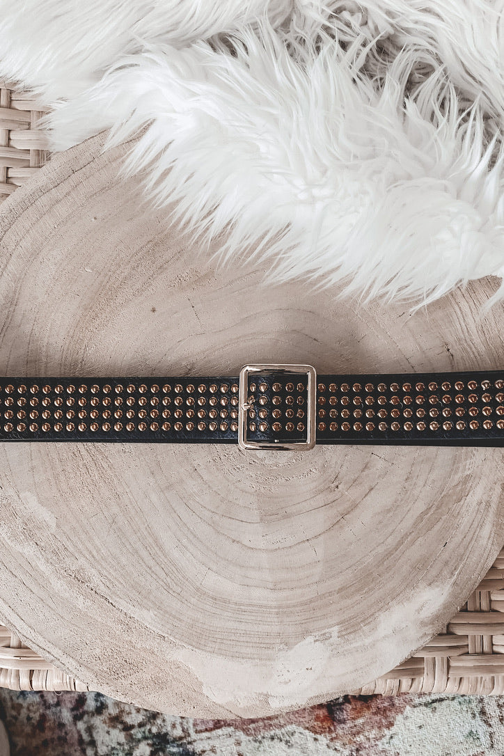 Just My Type Studded Statement Belt