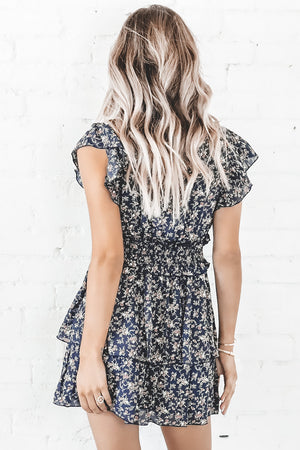 High Standards Ruffle Mini Dress