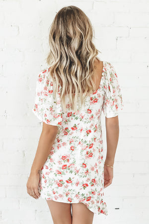 MINKPINK Uncharted Heart Mini Dress