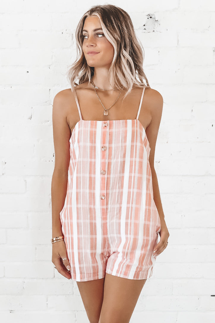 MINKPINK Stripe Playsuit