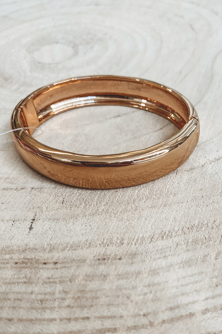 SAHIRA 18k Gold Liza Bangle