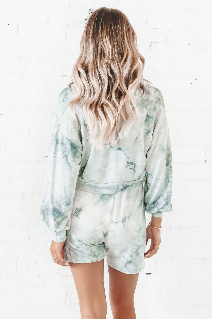 Into The Groove Pistachio Tie Dye Set