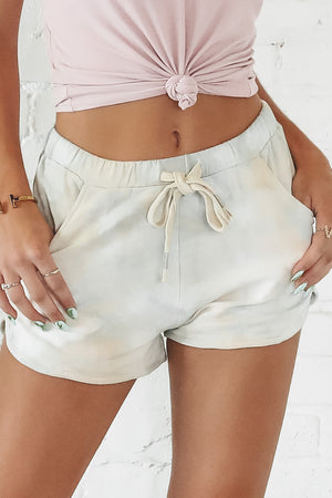 Cheer For You Tie Dye Lounge Shorts