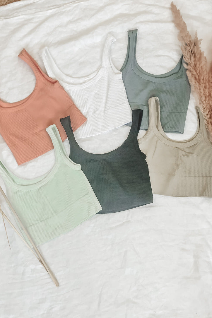 Sleep In Ribbed Cami Lounge Tank