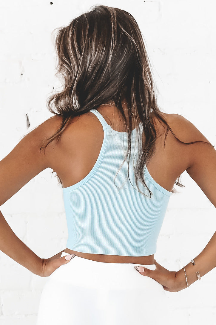 Free The People Racerback Crop Top