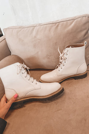 If You Want To Off White Lace Up Boots