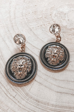 Queen Of The Jungle Statement Earrings