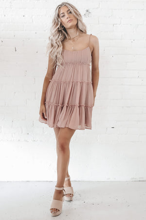 This Isn't About You Mauve Mini Dress