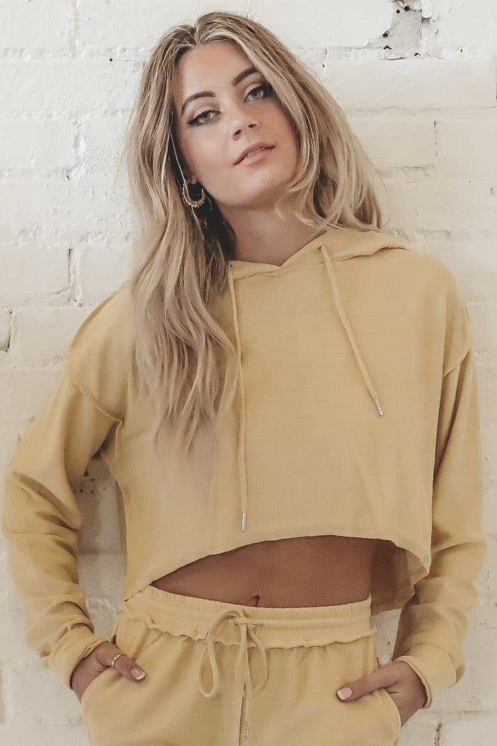 Catch Some Rays Cropped Pullover