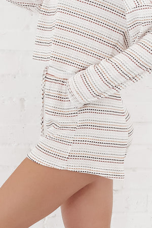 Over The Rainbow Striped Lounge Shorts