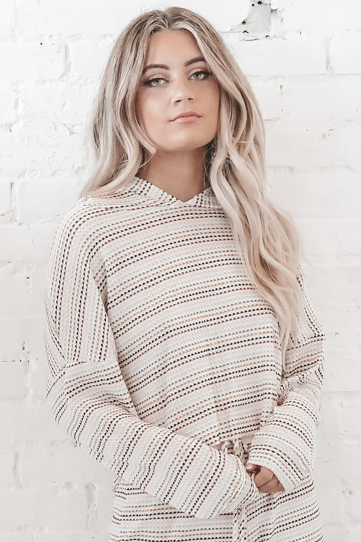 Over The Rainbow Striped Pullover