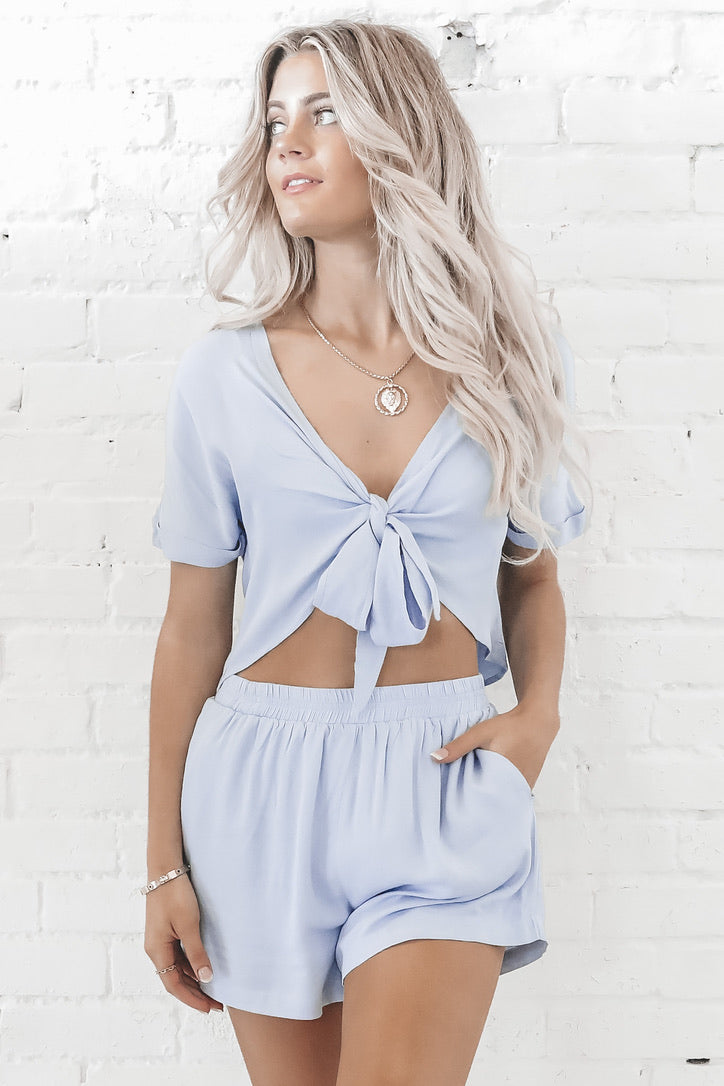 Tounge Tied Two Piece Set