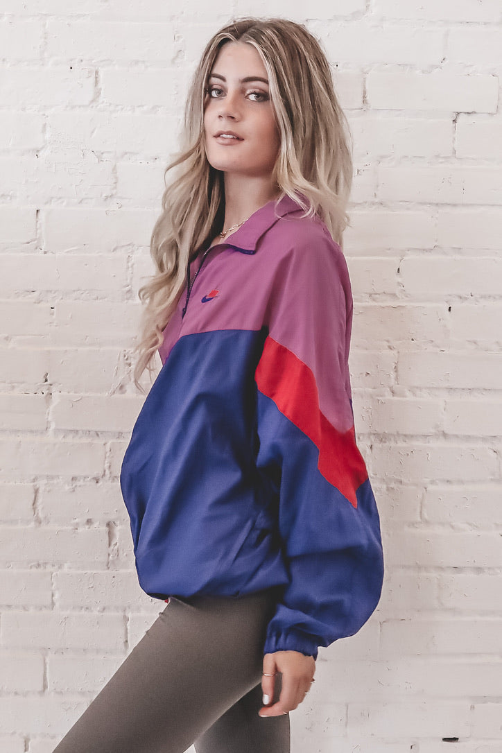 VINTAGE Color Block Nike Windbreaker 101