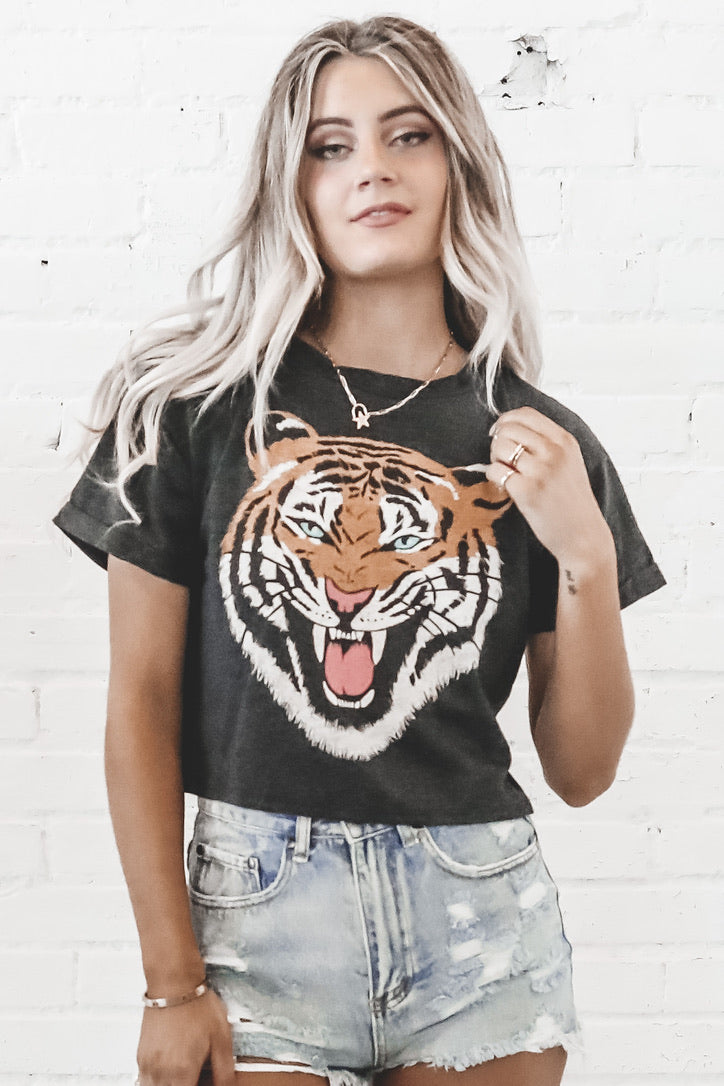 Fierce Face Tiger Graphic Tee