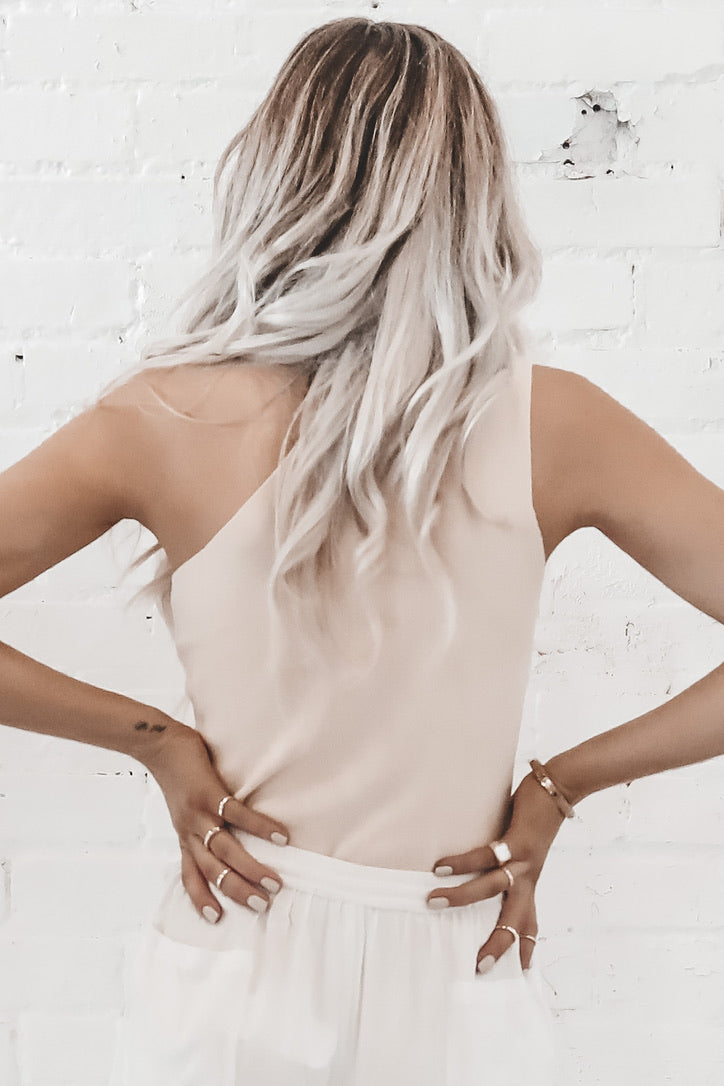 Classy But Sassy Taupe Top