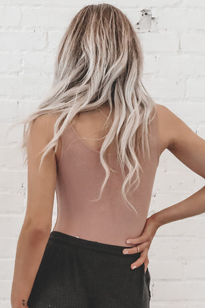 BAYSE Never Have I Ever Nude Bodysuit