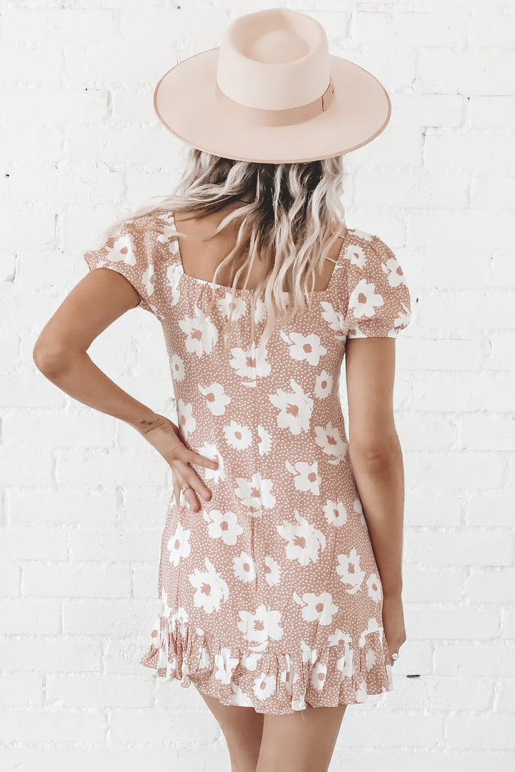 Sunday Best Peach Dress