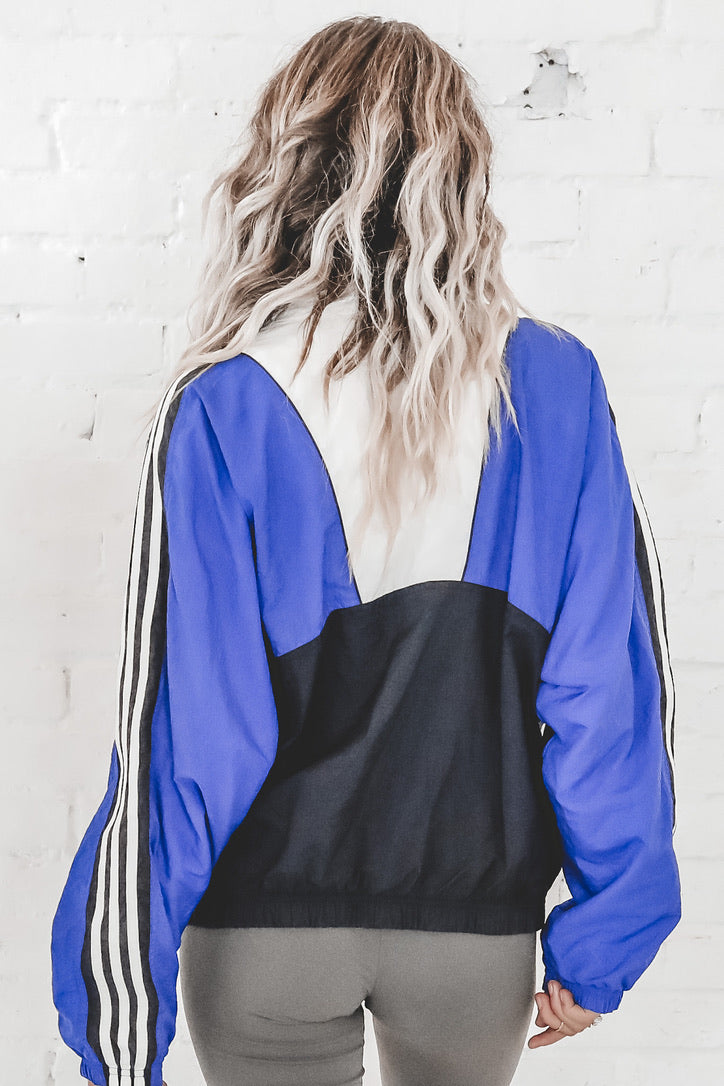 VINTAGE Color Block Adidas Windbreaker 104